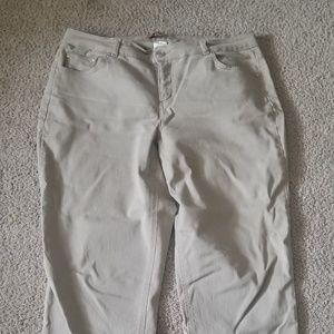 Womens Khaki Jeans
